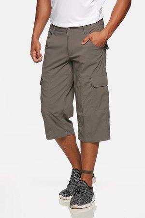 TORNADO - 3/4 sports trousers - grey