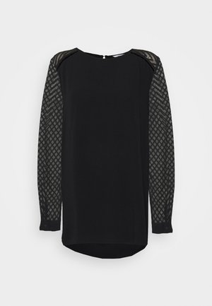 OBJZOE TOP - Blůza - black