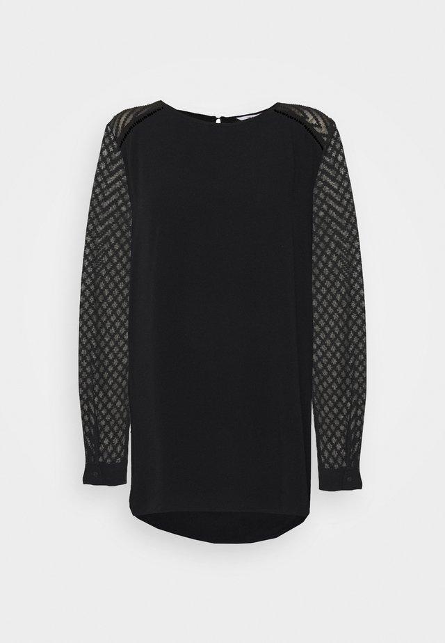 OBJZOE TOP - Bluse - black