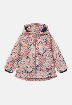 NMFMAXI FLORAL BEATA - Light jacket - peach whip