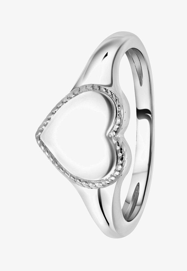 GRAVEERHART - Ring - zilver