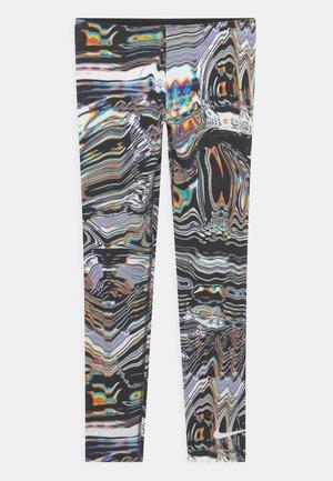 Leggings - white/black