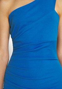 WAL G. - GRACE RUCHED DRESS - Jersey dress - royal blue - 5