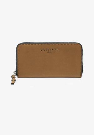Wallet - light tan