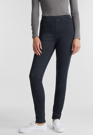 MIT STRETCH - Jeggings - gunmetal