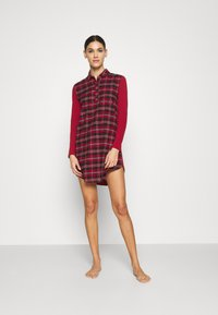 Skiny - Nightie - red check - 0