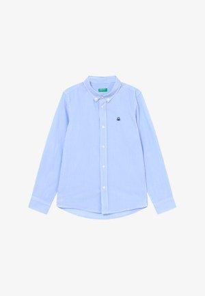 Shirt - white/light blue