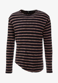 Tigha - ALISTER - Pullover - black/pale brown - 3