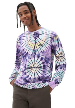 MN VANS BURST TIE DYE LS - Long sleeved top - english lavender