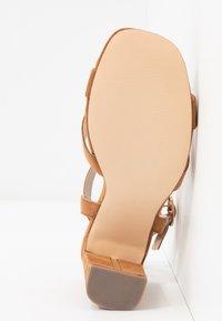 Dorothy Perkins - SELENA BLOCK  - High heeled sandals - tan - 6