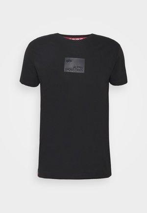 RUBBER PATCH - T-shirts print - black