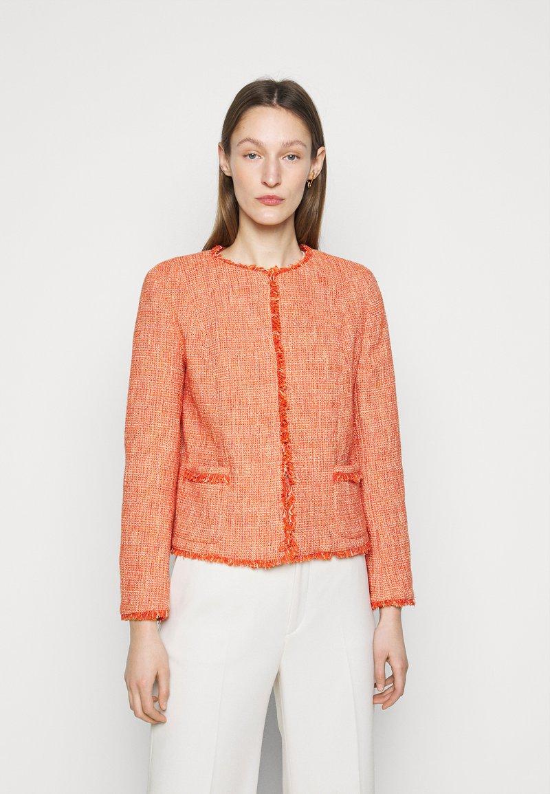 WEEKEND MaxMara - PONTE - Summer jacket - koralle