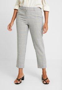 Dorothy Perkins Petite - NAPLES GRAZER - Trousers - grey - 0