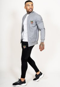 Ed Hardy - TILL DEATH BOMBER TRACKTOP - Zip-up hoodie - grey - 3