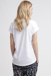 Vila - VIDREAMERS PURE - Basic T-shirt - optical snow - 2