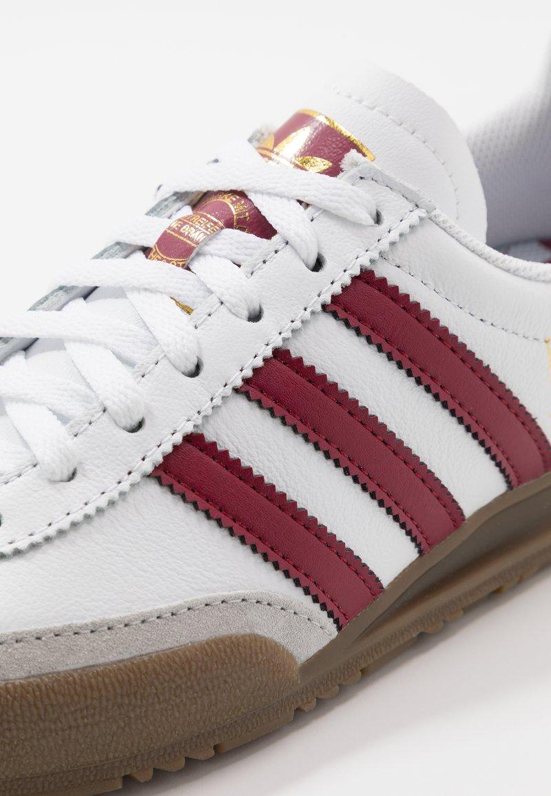 Plata Certificado Parásito  adidas Originals JEANS UNISEX - Sneakers basse - footwear white/collegiate  burgundy/bianco - Zalando