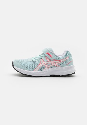 CONTEND 7 UNISEX - Neutral running shoes - aqua/white