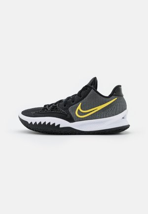 KYRIE LOW 4 - Indoorskor - black/metallic gold/white