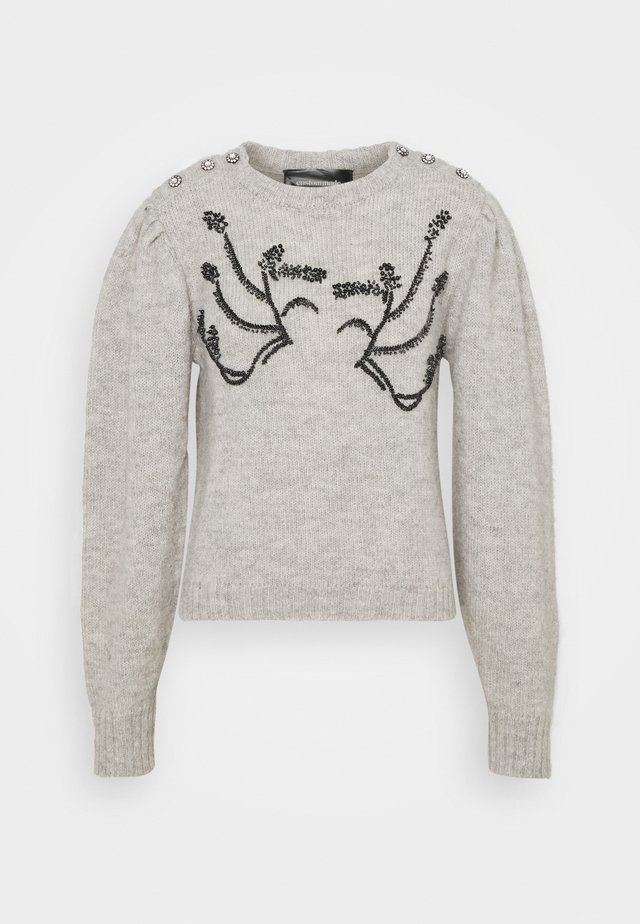 TIRA - Jumper - grey melange