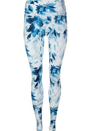 FRANZINE - Leggings - blue