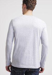 Lacoste - Maglietta a manica lunga - silver chine - 2
