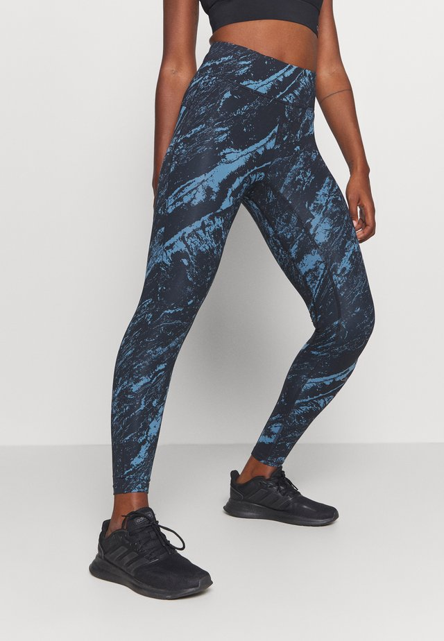 CLASSIC PRINTED - Tights - impulsive blue