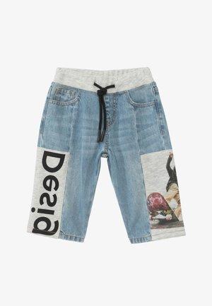 POL - Denim shorts - blue