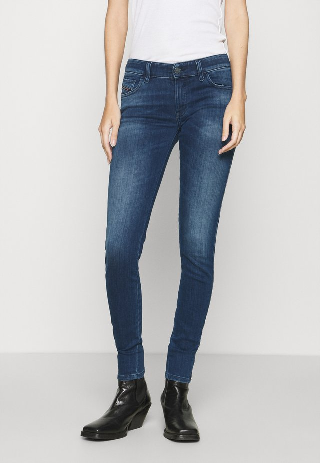 SLANDY-LOW-ZIP - Jeans Skinny Fit - indigo