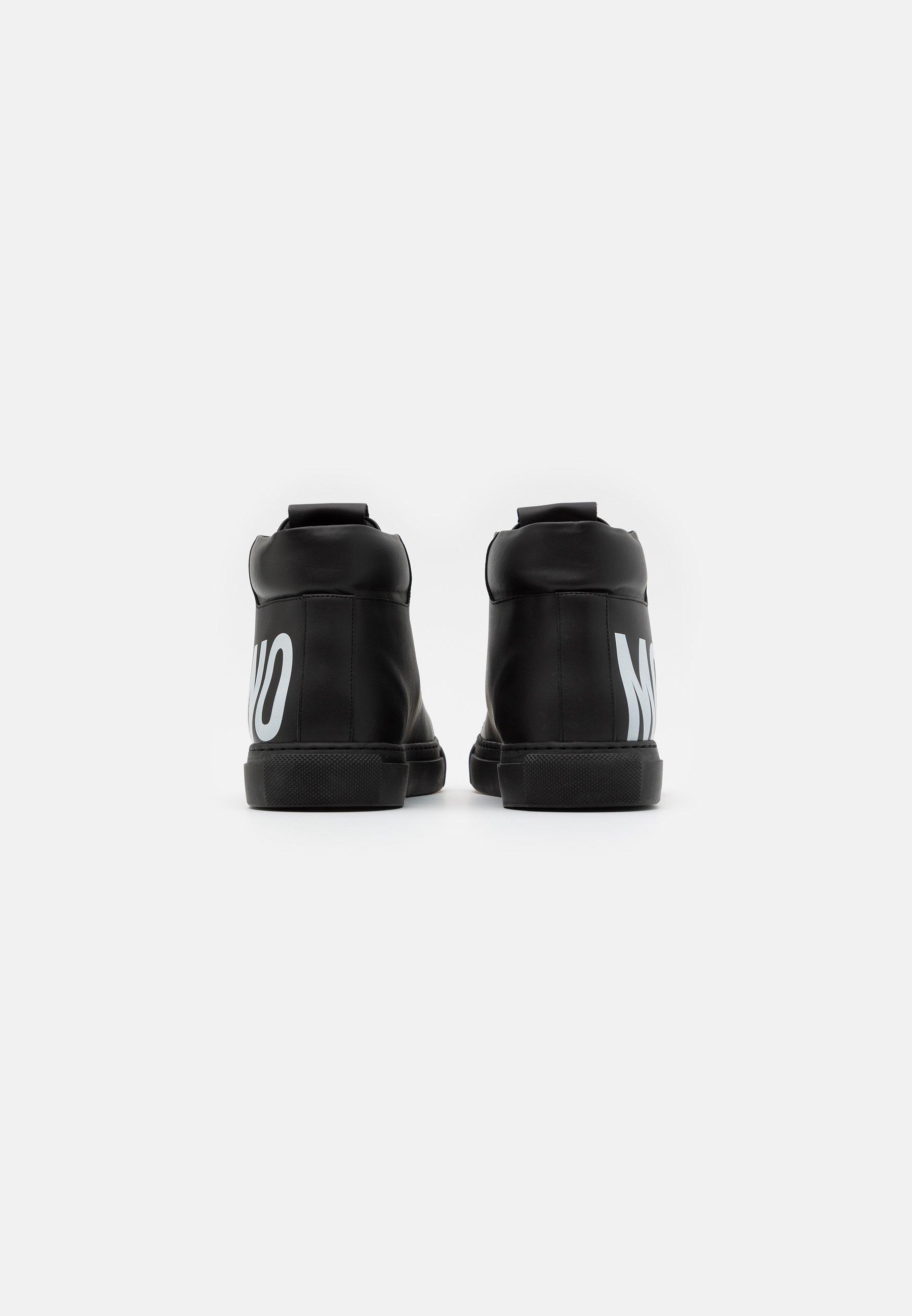 La migliore vendita Scarpe da uomo MOSCHINO Sneakers alte black/white
