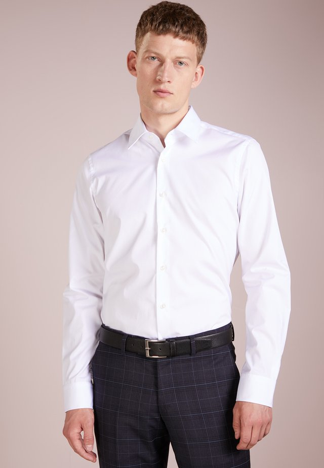 PIERCE SLIM FIT - Zakelijk overhemd - white