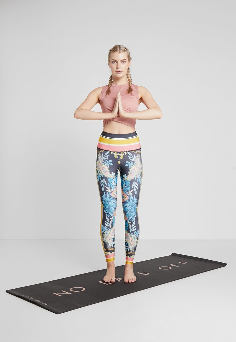 South Beach - YOGA MAT - Fitness/yoga - black