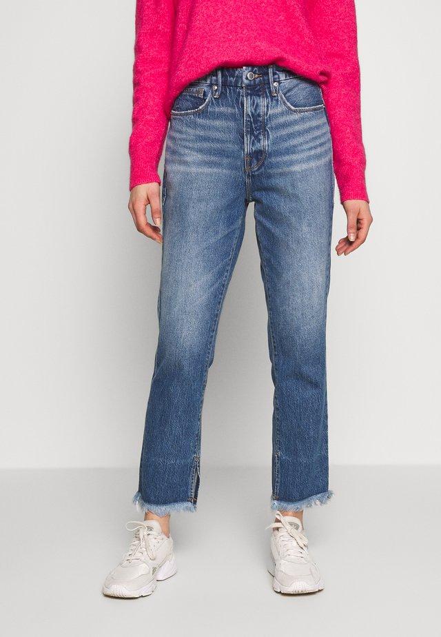 GOOD BOY - Straight leg jeans - blue