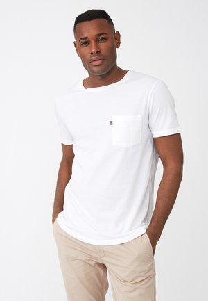 TRAVIS - Basic T-shirt - white