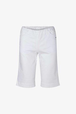 SAVANNAH MIT ELASTISCHEM BUND - Shorts - white