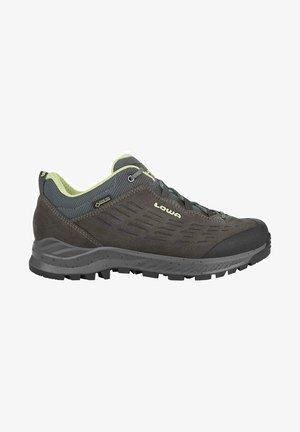 EXPLORER GTX LOW - Hiking shoes - anthrazit/mint