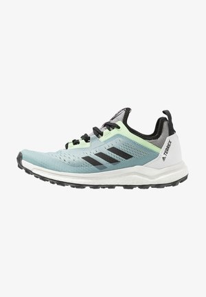 TERREX AGRAVIC FLOW - Laufschuh Trail - ash grey/core black/glow green