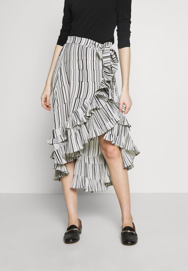 RILL - A-line skirt - white sugar
