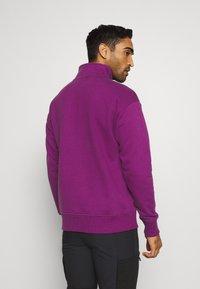 Columbia - BUGA QUARTER ZIP - Sweatshirt - plum/black - 2
