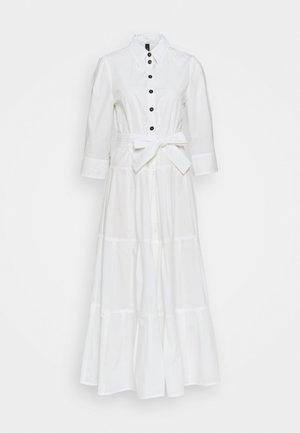 Vestido camisero - off white