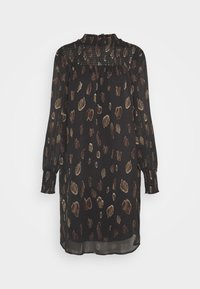VMFANT SMOCK O-NECK DRESS  - Korte jurk - phantom