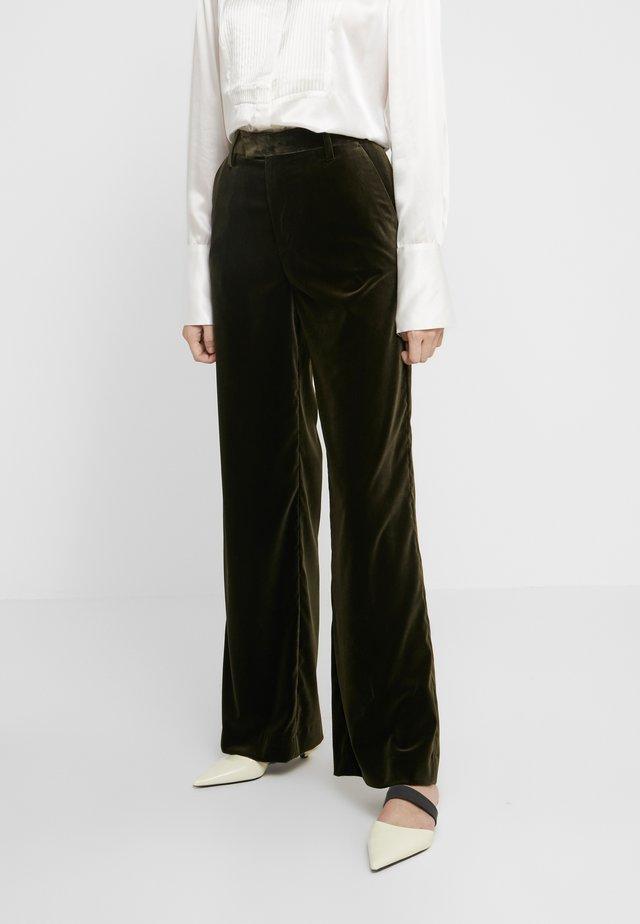 LYN - Pantalon de costume - sea tangle