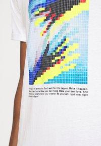 Solid - Print T-shirt - white - 5