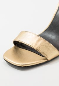 Versace Jeans Couture - High heeled sandals - oro - 2