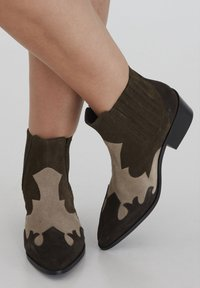 ICHI - Ankle boots - beech - 0