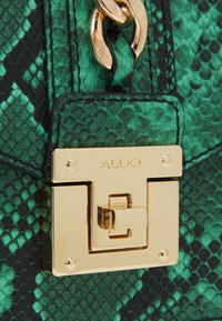 ALDO - SNAKE - Handbag - green - 3