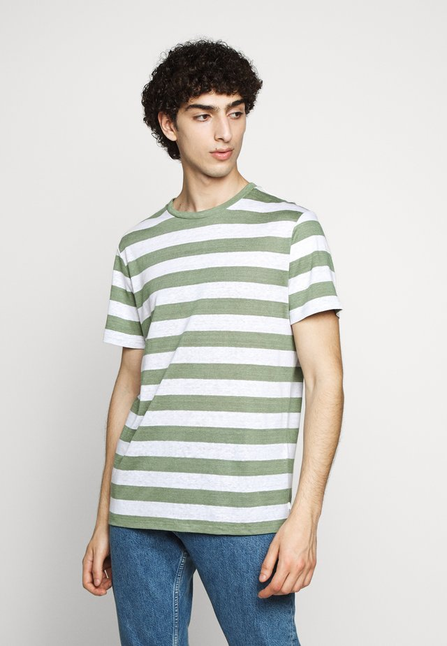 COMA CLEAN - T-shirts print - sage green
