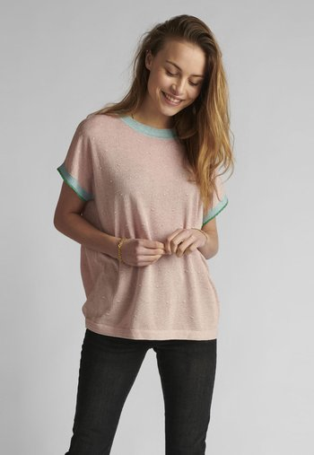 NUDARLENE  - Print T-shirt - peach skin