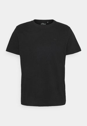 KURZARM - T-shirt basic - black