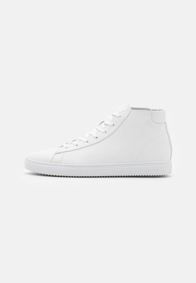 BRADLEY MID - Sneakersy wysokie - triple white