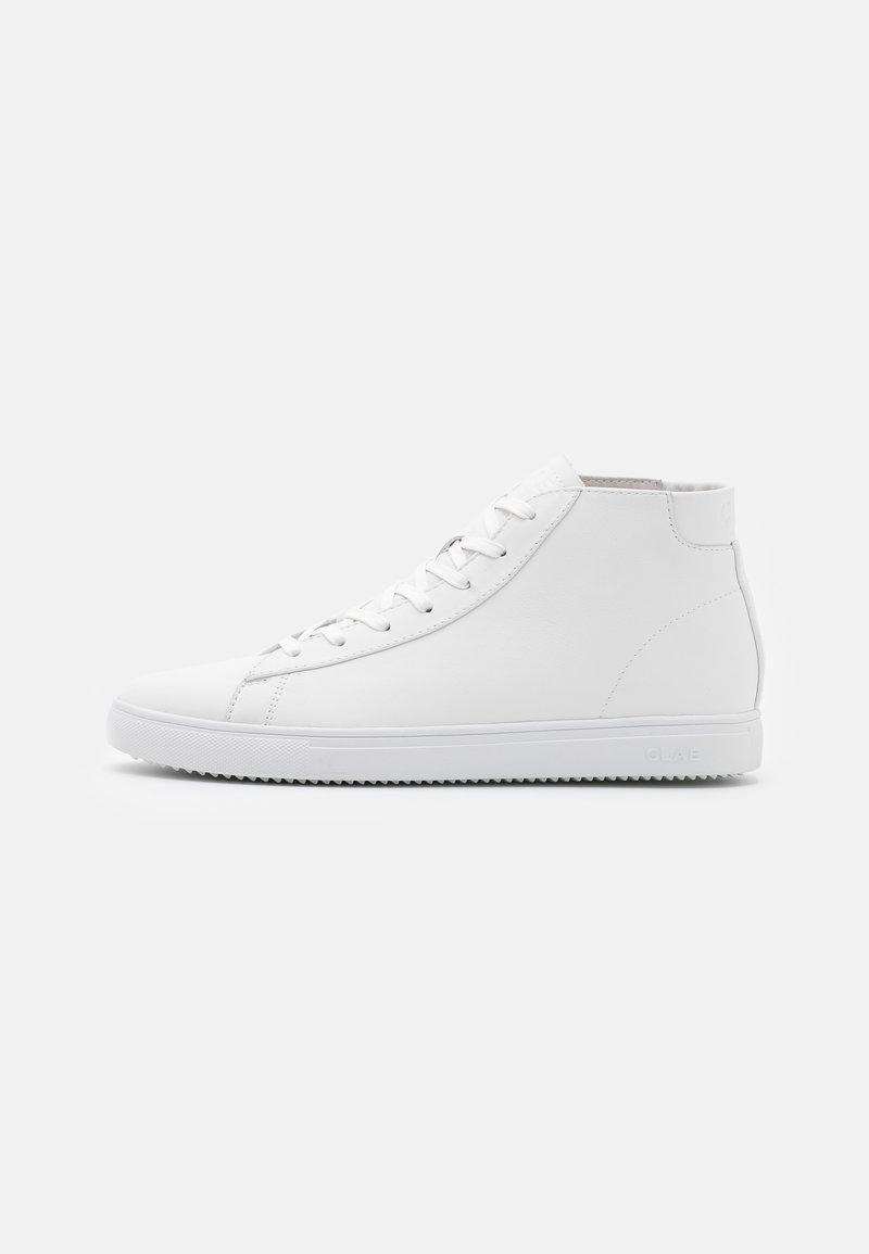 Clae - BRADLEY MID - Sneakersy wysokie - triple white